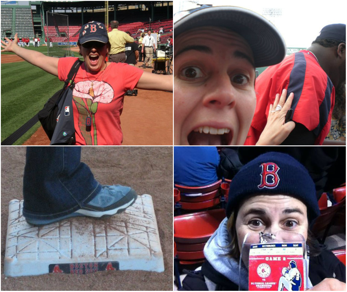 ALP Red Sox Collage photo