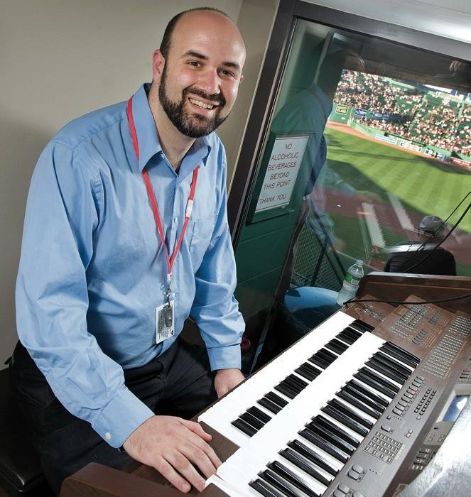 Boston Red Sox organist John KantorPhoto courtesy of Josh Kantor