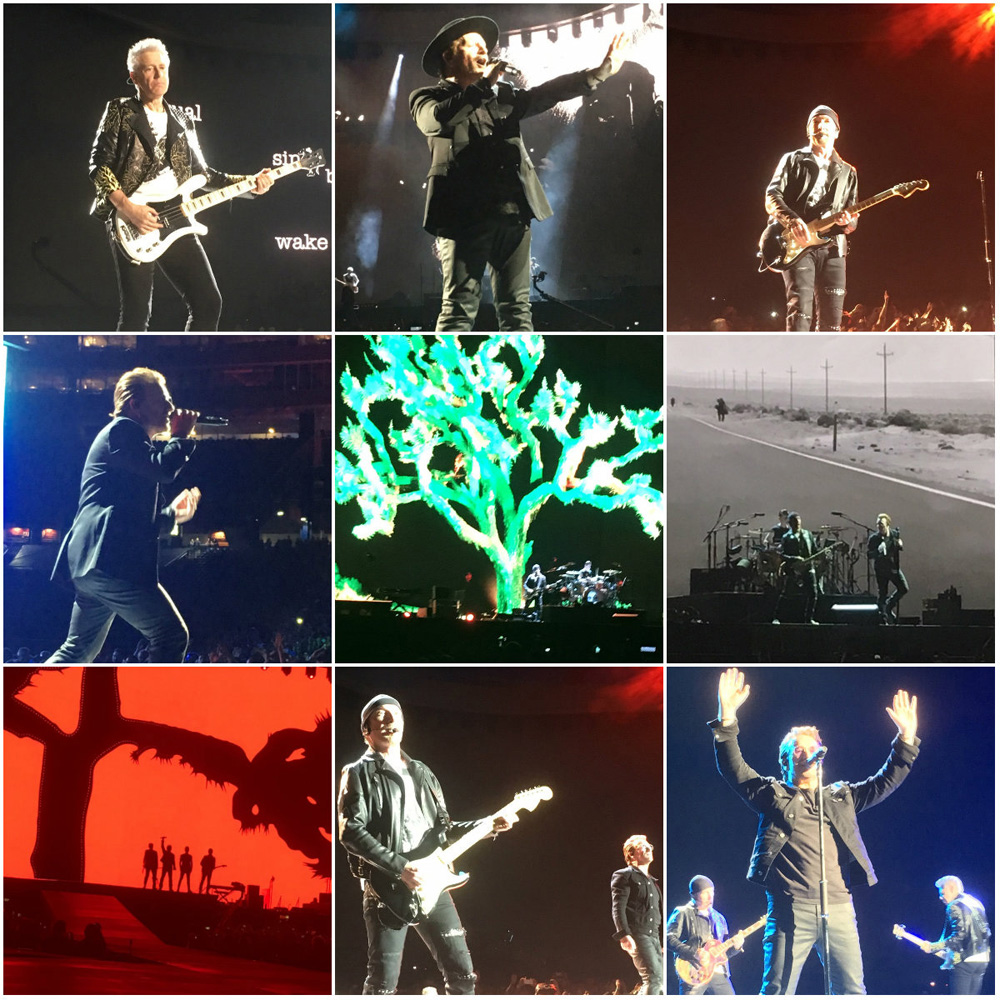 U2 at Gillette Stadium on June 25, 2017Photos by Aimsel Ponti