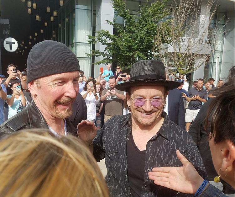 Edge and Bono