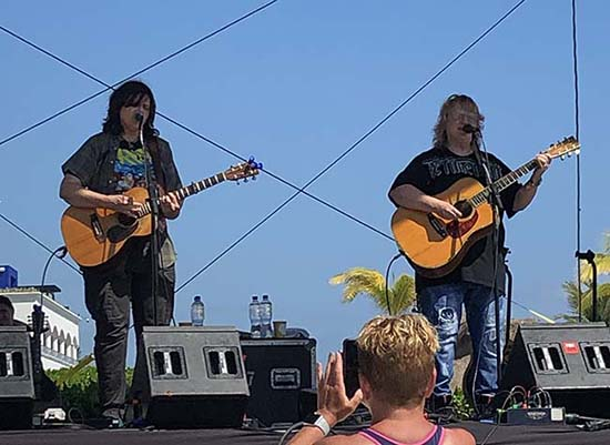 Indigo Girls friday heaven beach stage