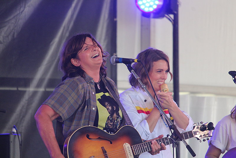 Amy Ray and Brandi Carlile