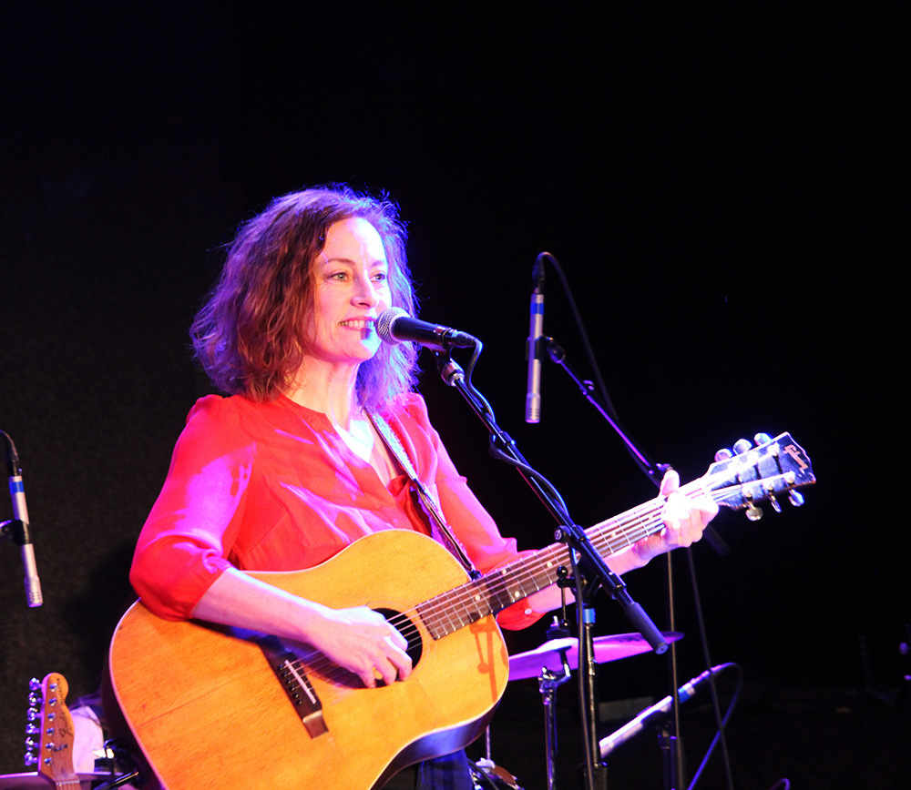 Sarah Harmer at City Winery in Boston, MA. March 1, 2020Photo by Aimsel Ponti